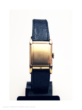Flip top watch01 Westary 17J 1940's Gold Filled