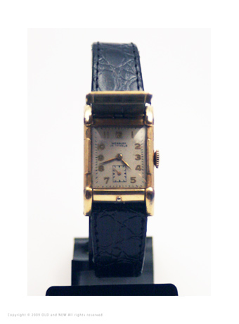 Flip top watch02 Westary 17J 1940's Gold Filled
