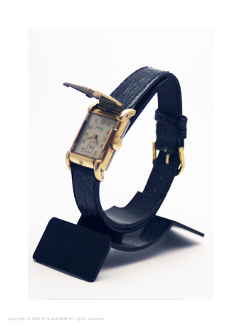 Flip top watch03 Westary 17J 1940's Gold Filled